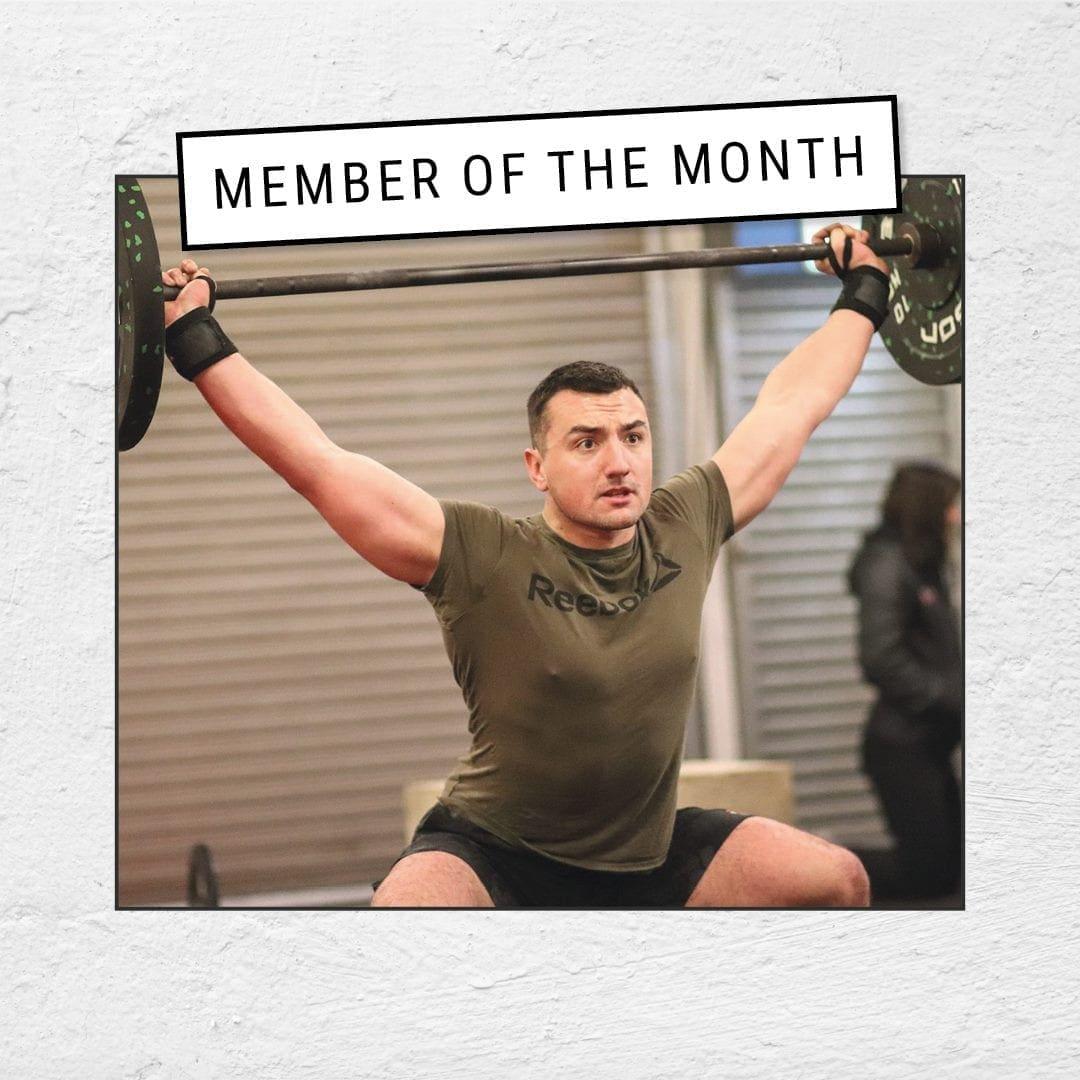 Joel Allard GAIN Fitness Member of the Month