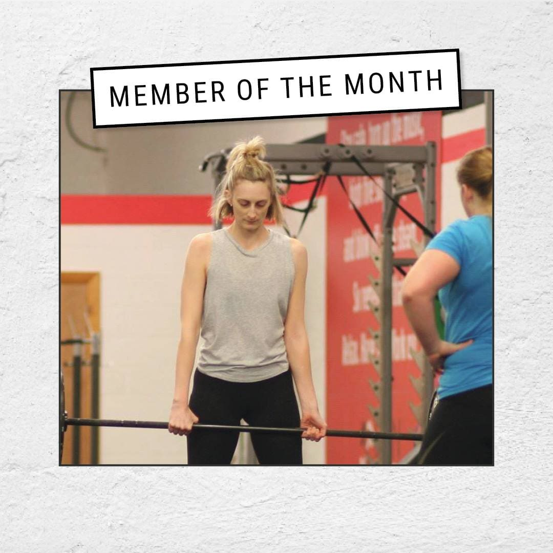 Helen Norman CrossFit Member of the Month