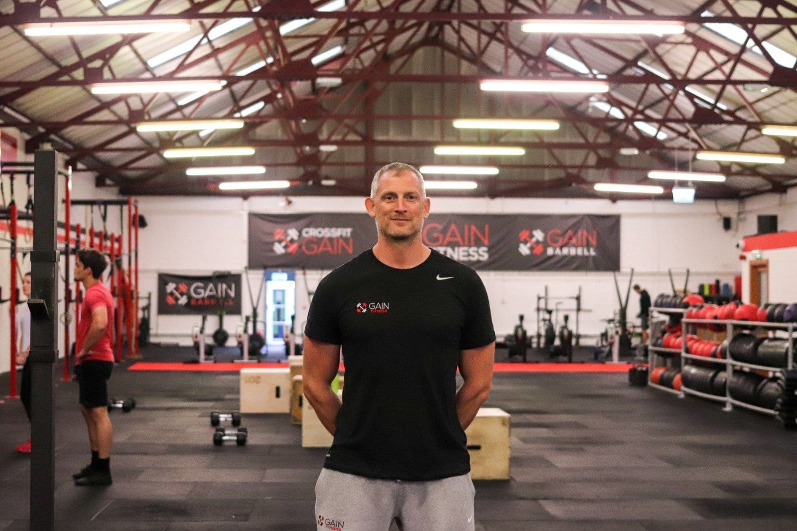 Tom Mahood Owner of GAIN Fitness Norwich